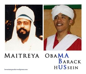 Maitreya/ Obama/ Mabus